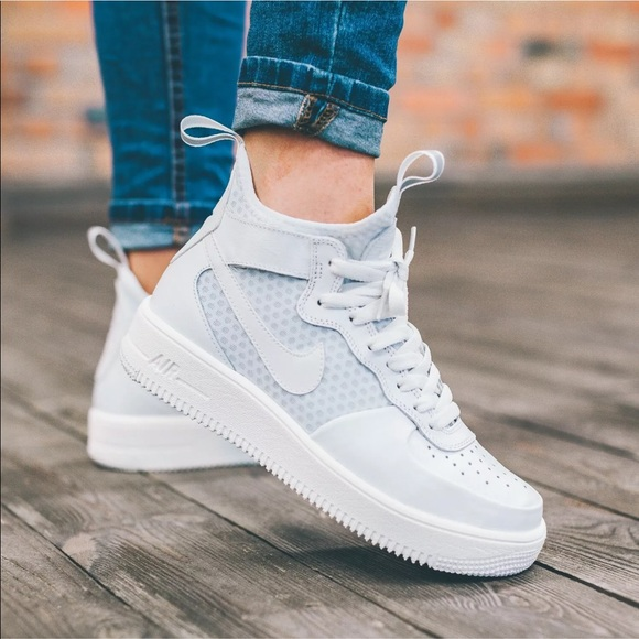Nike Shoes Womens Air Force 1 Ultraforce Mid Sneakers Poshmark